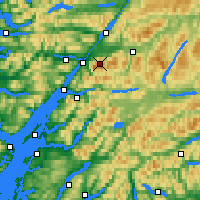 Nearby Forecast Locations - Ben Nevis - Harita