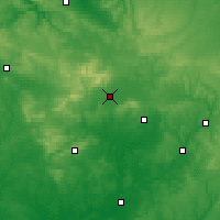 Nearby Forecast Locations - Alençon - Harita