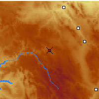 Nearby Forecast Locations - Molina de Aragón - Harita
