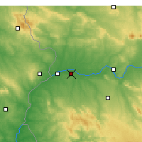 Nearby Forecast Locations - Talavera la Real - Harita