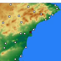 Nearby Forecast Locations - El Alted - Harita