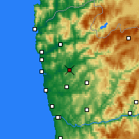 Nearby Forecast Locations - Braga - Harita