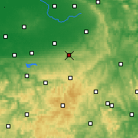 Nearby Forecast Locations - Büren - Harita