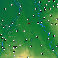 Nearby Forecast Locations - Mönchengladbach - Harita