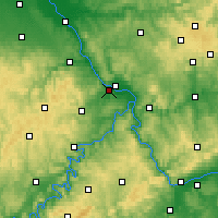 Nearby Forecast Locations - Andernach - Harita