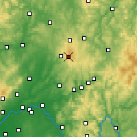 Nearby Forecast Locations - Hoherodskopf - Harita