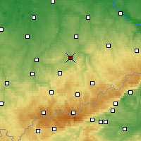 Nearby Forecast Locations - Chemnitz - Harita