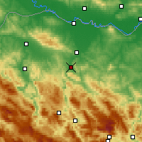 Nearby Forecast Locations - Banja Luka - Harita