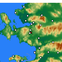 Nearby Forecast Locations - Gaziemir - Harita