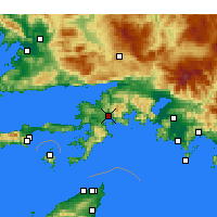Nearby Forecast Locations - Marmaris - Harita
