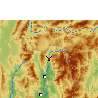 Nearby Forecast Locations - Thung Chang - Harita