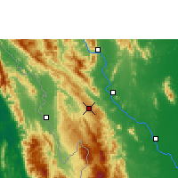 Nearby Forecast Locations - Doi Mu Soe Agromet - Harita