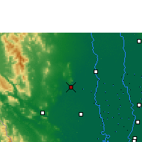 Nearby Forecast Locations - U Thong Agromet - Harita