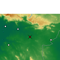 Nearby Forecast Locations - Sa Kaeo - Harita