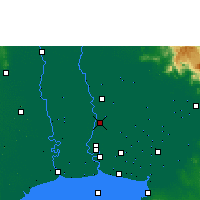 Nearby Forecast Locations - Don Mueang - Harita