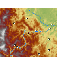Nearby Forecast Locations - Suijiang - Harita