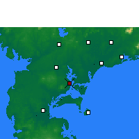 Nearby Forecast Locations - Zhanjiang - Harita