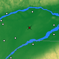 Nearby Forecast Locations - Beaver Mines - Harita