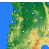 Nearby Forecast Locations - Otorohanga - Harita