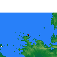 Nearby Forecast Locations - Koolan Insel - Harita