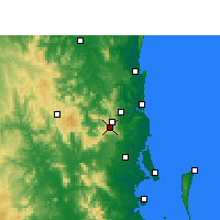Nearby Forecast Locations - Maleny - Harita