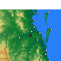 Nearby Forecast Locations - Archerfield - Harita