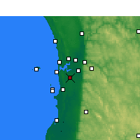 Nearby Forecast Locations - Jandakot - Harita