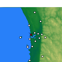 Nearby Forecast Locations - Swanbourne - Harita