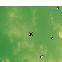Nearby Forecast Locations - Wyalong - Harita
