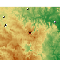 Nearby Forecast Locations - Nullo Mount. - Harita