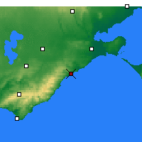 Nearby Forecast Locations - Aireys Inlet - Harita