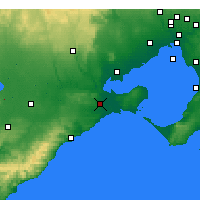 Nearby Forecast Locations - Geelong - Harita