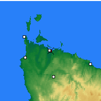 Nearby Forecast Locations - Smithton - Harita