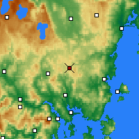 Nearby Forecast Locations - Tunnak - Harita