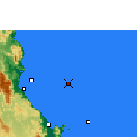 Nearby Forecast Locations - Norman Reef - Harita