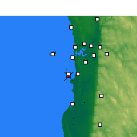 Nearby Forecast Locations - Garden Island - Harita