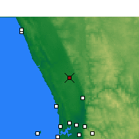Nearby Forecast Locations - Gingin - Harita