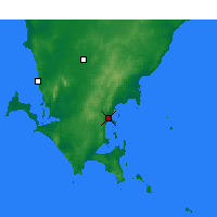 Nearby Forecast Locations - Port Lincoln - Harita