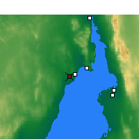 Nearby Forecast Locations - Whyalla Airport - Harita