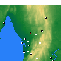 Nearby Forecast Locations - Roseworthy - Harita
