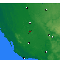Nearby Forecast Locations - Penola - Harita