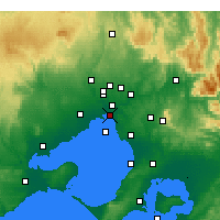 Nearby Forecast Locations - St Kilda (Melbourne) - Harita