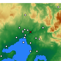 Nearby Forecast Locations - Viewbank - Harita