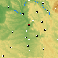 Nearby Forecast Locations - Forchheim - Harita