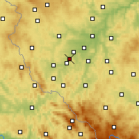 Nearby Forecast Locations - Holýšov - Harita