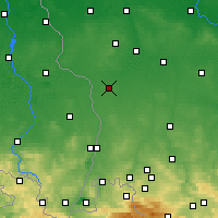 Nearby Forecast Locations - Gozdnica - Harita