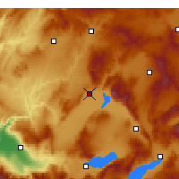 Nearby Forecast Locations - Çivril - Harita