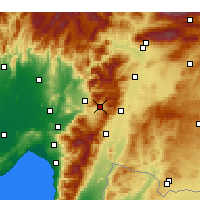Nearby Forecast Locations - Bahçe - Harita