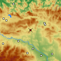 Nearby Forecast Locations - Estella-Lizarra - Harita