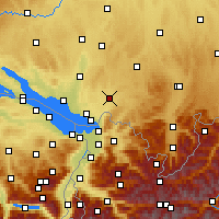Nearby Forecast Locations - Wangen im Allgäu - Harita